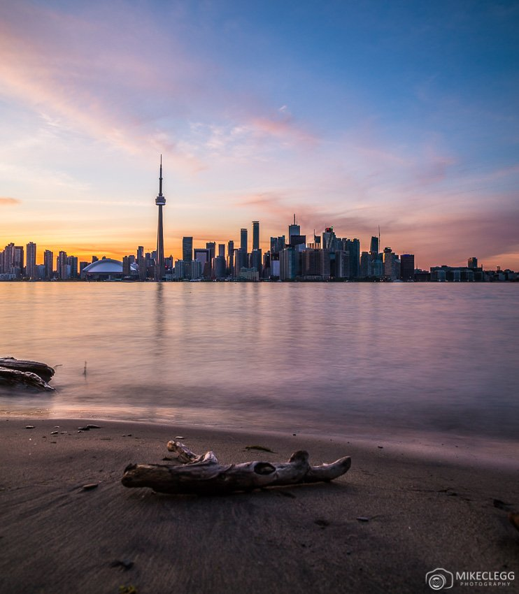 Toronto Skyline from Ward's Island