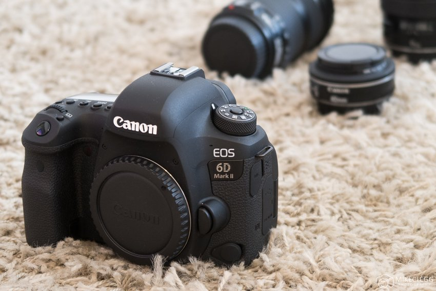 Canon 6D Mark 2 Body Shot