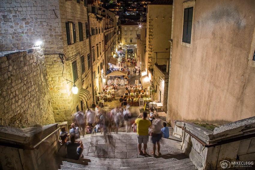 Historic Stairs,Ulica uz Jezuite, Dubrovnik