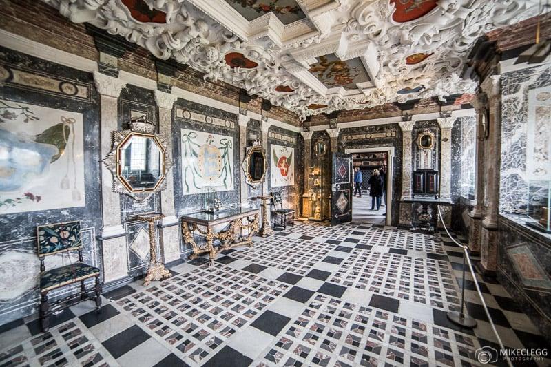 Marble Chamber, Rosenborg Castle