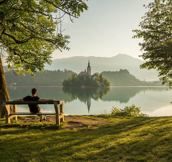 Relaxing at beautiful destinations in Europe