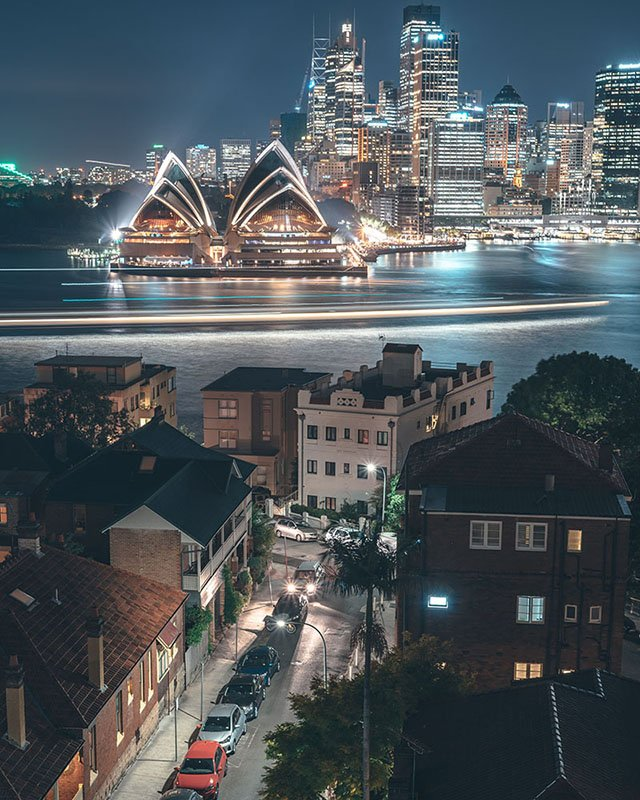 Sydney at night - ©Kohki