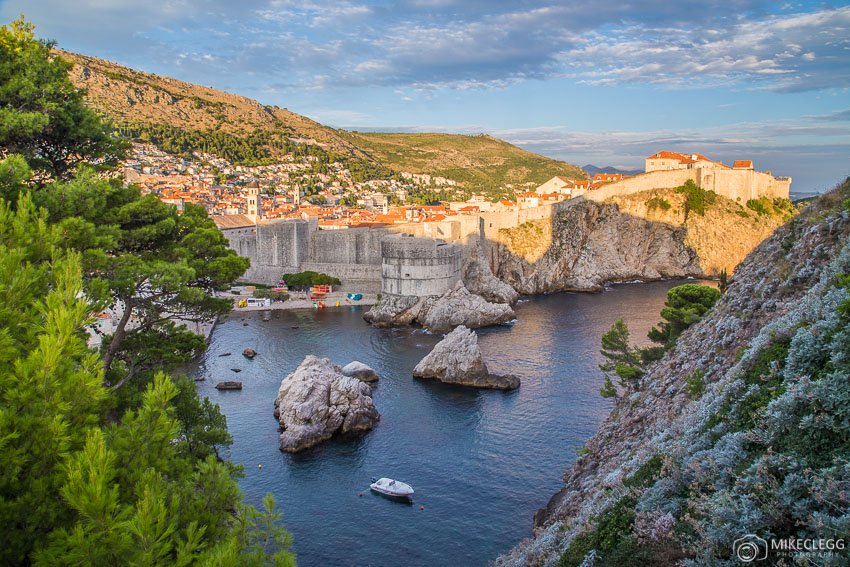 View of Dubrovnik from near Lovrijenac Fortress