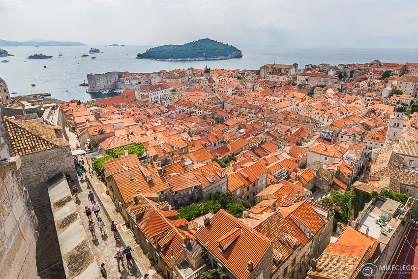Views from Minceta Tower, Dubrovnik