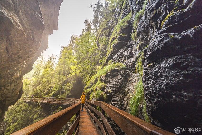 Vorderkaserklamm Gorge, Austria