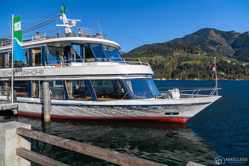 Boat tours on Lake Zell