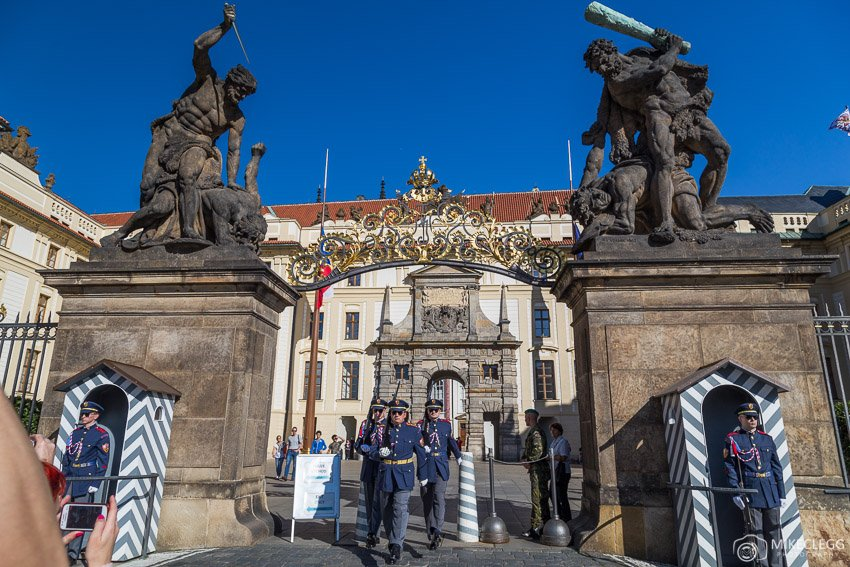 Guards and Prague Castle Complex