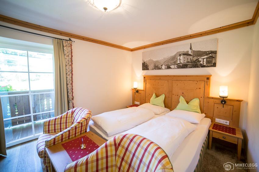 Room at DerKaprunerhof 4 star hotel
