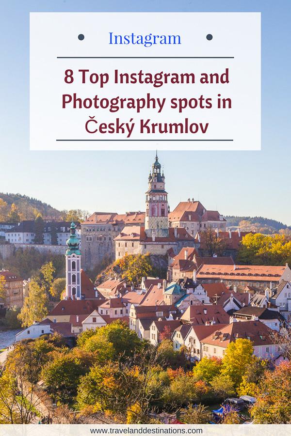Top Instagram and Photography spots in Český Krumlov