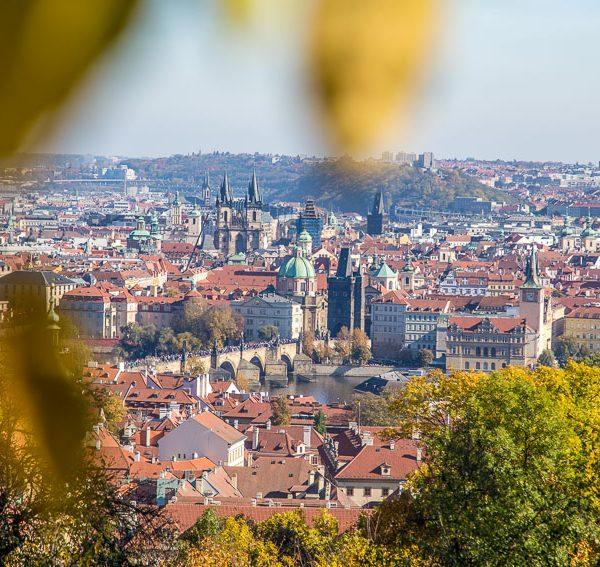 Views from Petřín Park, Prague