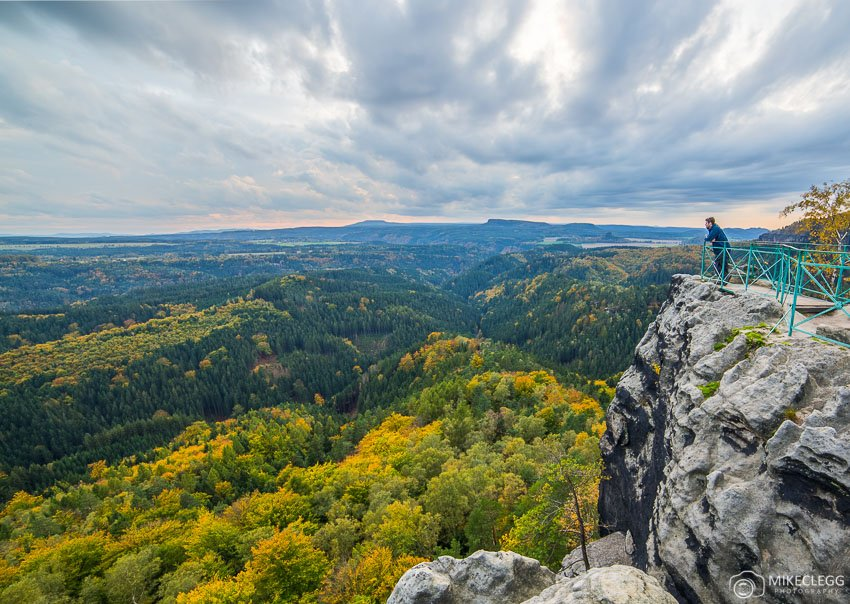 Views from Pravcicka Gate, Bohemian Switzerland