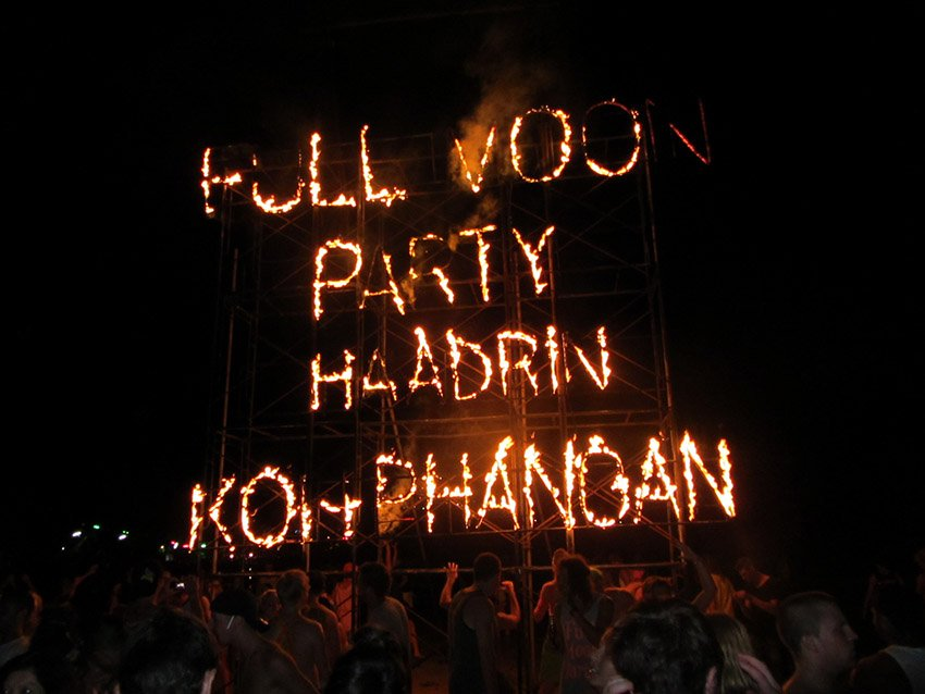 Full moon party - Koh Phangan