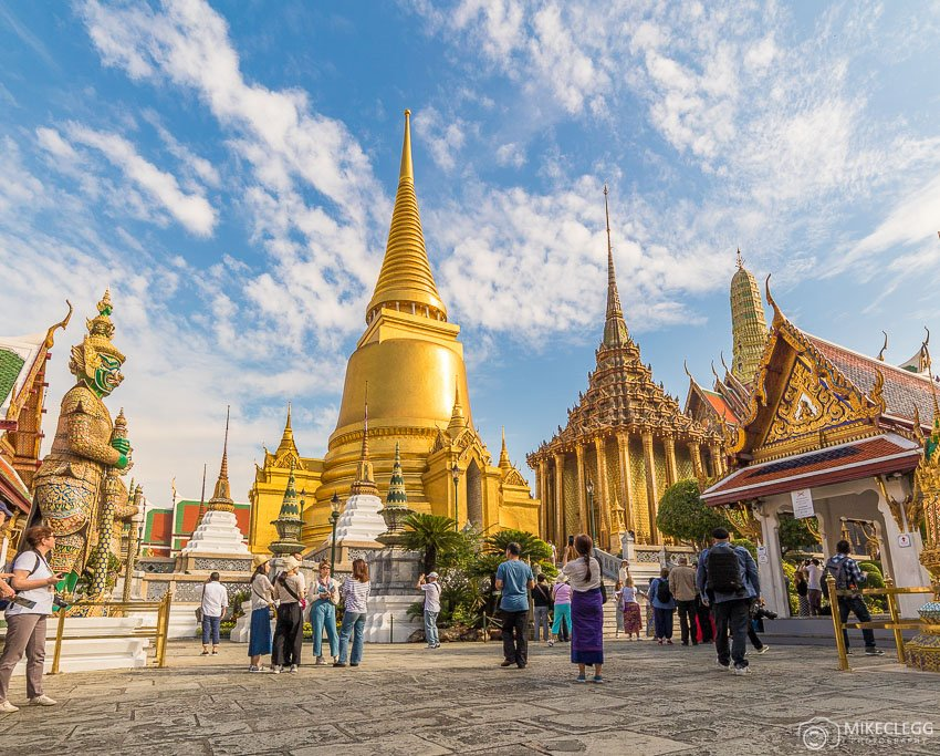 Grand Palace Temples in Bangkok