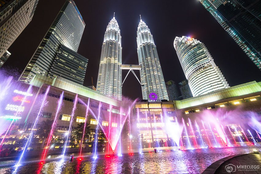 Kuala Lumpur and the Lake Symphony show