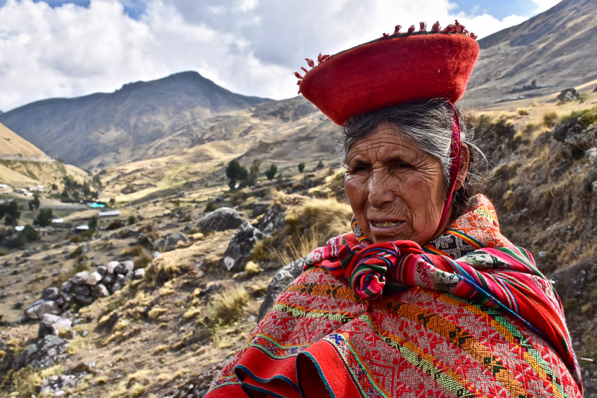Locals in Peru by Leanne Scott