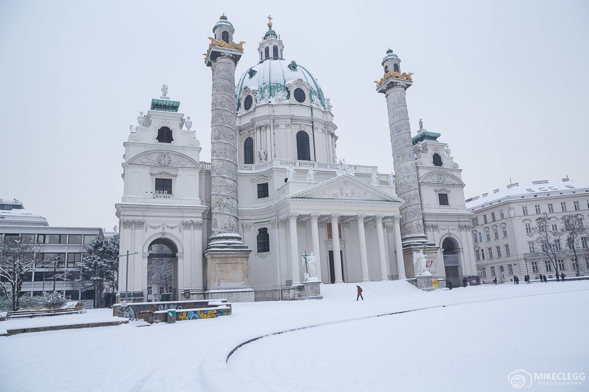 Vienna in the winter