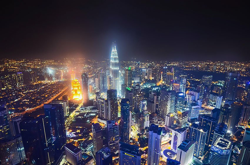 kuala-lumpur from KL Tower