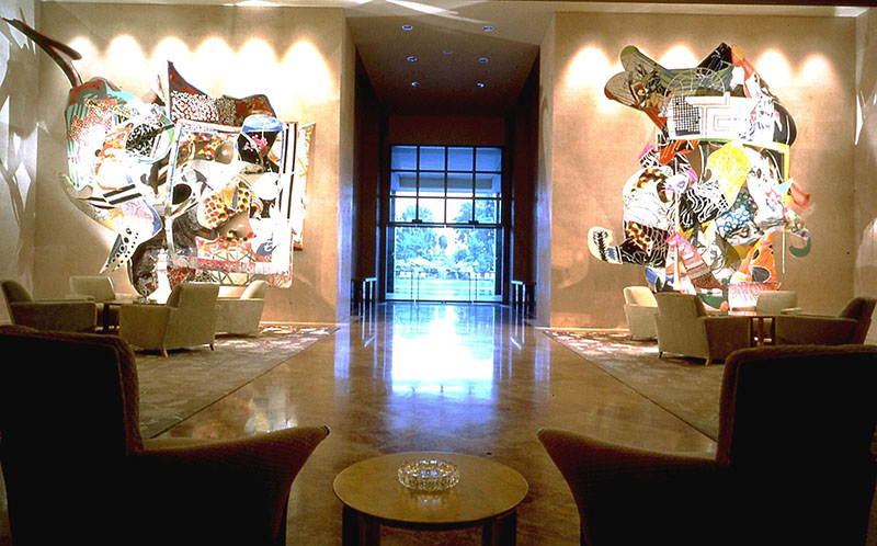 Artwork at the Ritz-Carlton by Aparna