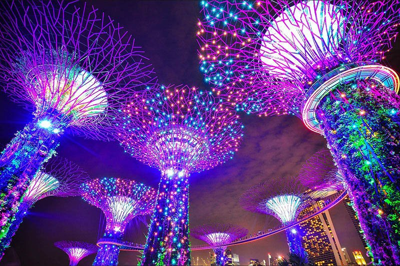 Gardens by the Bay Singapore- Via Pixabay-1896765