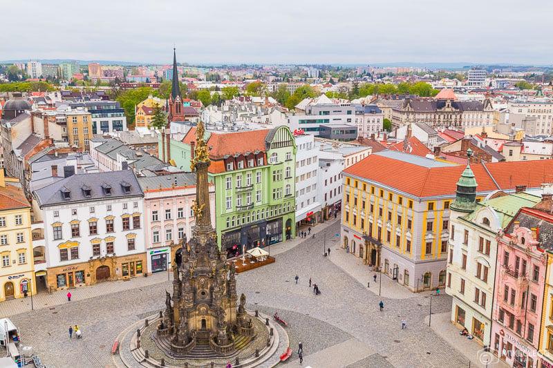 Holy Trinity Monument in Olomouc, Czech Republic