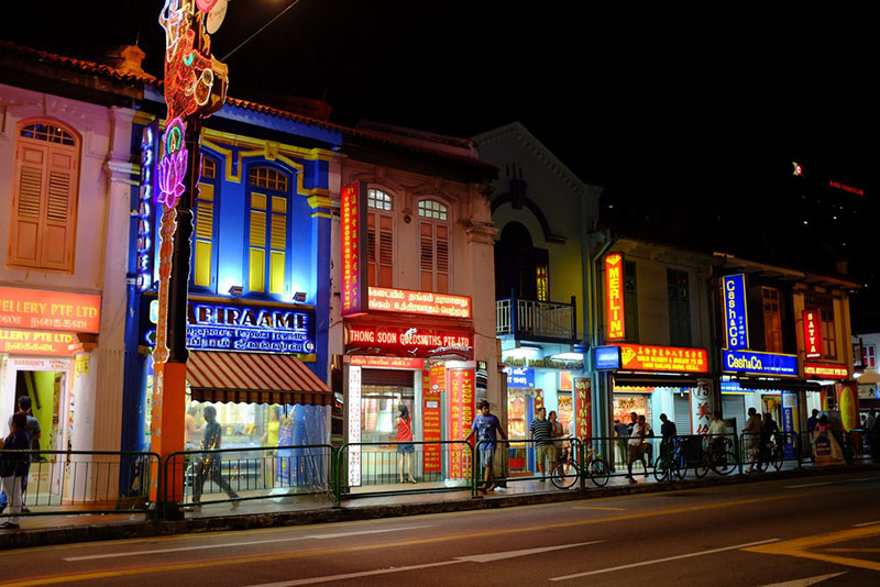 Little India Singapore by Aparna