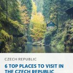 Pin - 6 Top Places to Visit in the Czech Republic