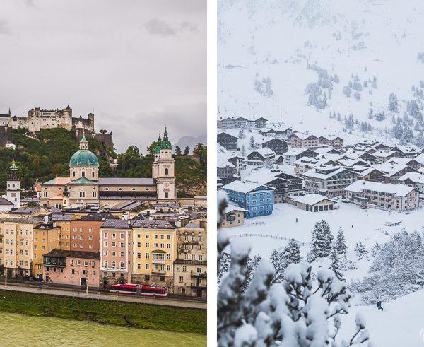Salzburg and Obertauern in Austria