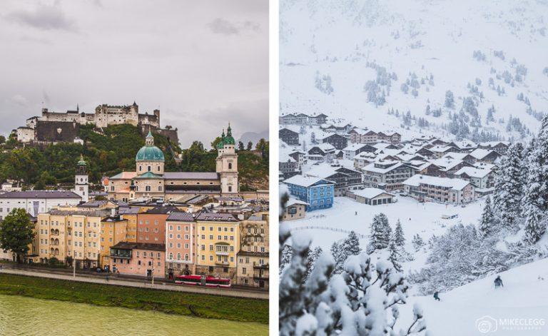 Winter Getaways Visiting Salzburg and Obertauern in Austria