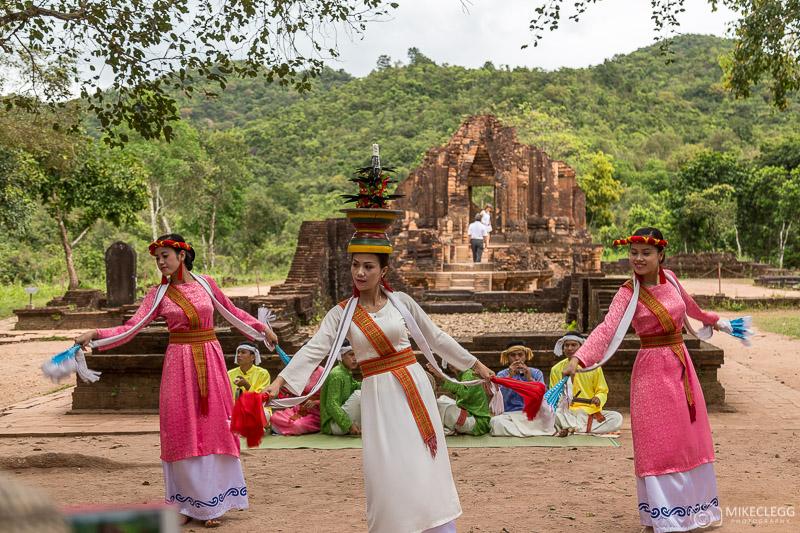 Apsara Dancers, My Son Temples, Vietnam