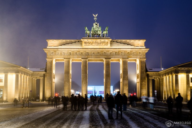 Berlin and Brandenburg Gate