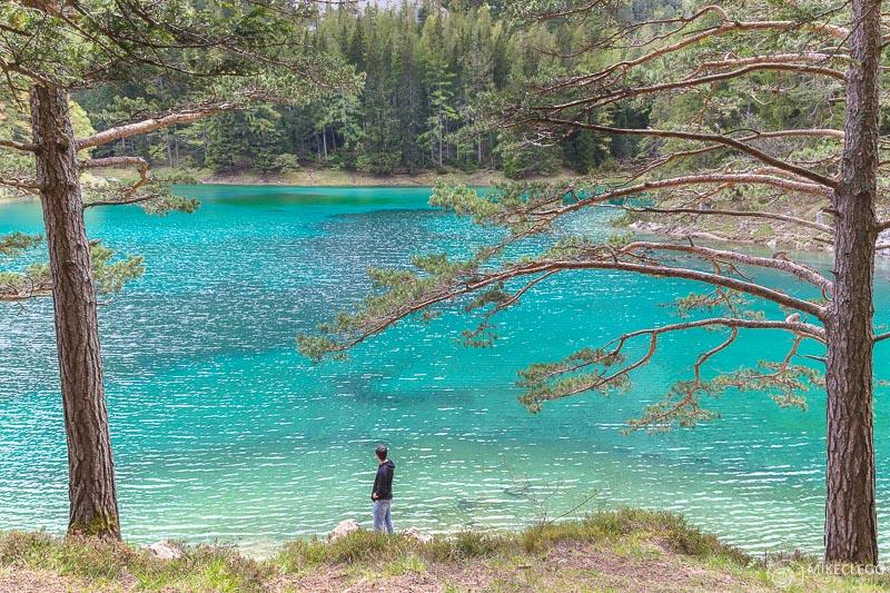 Exploring Gruner See, Austria