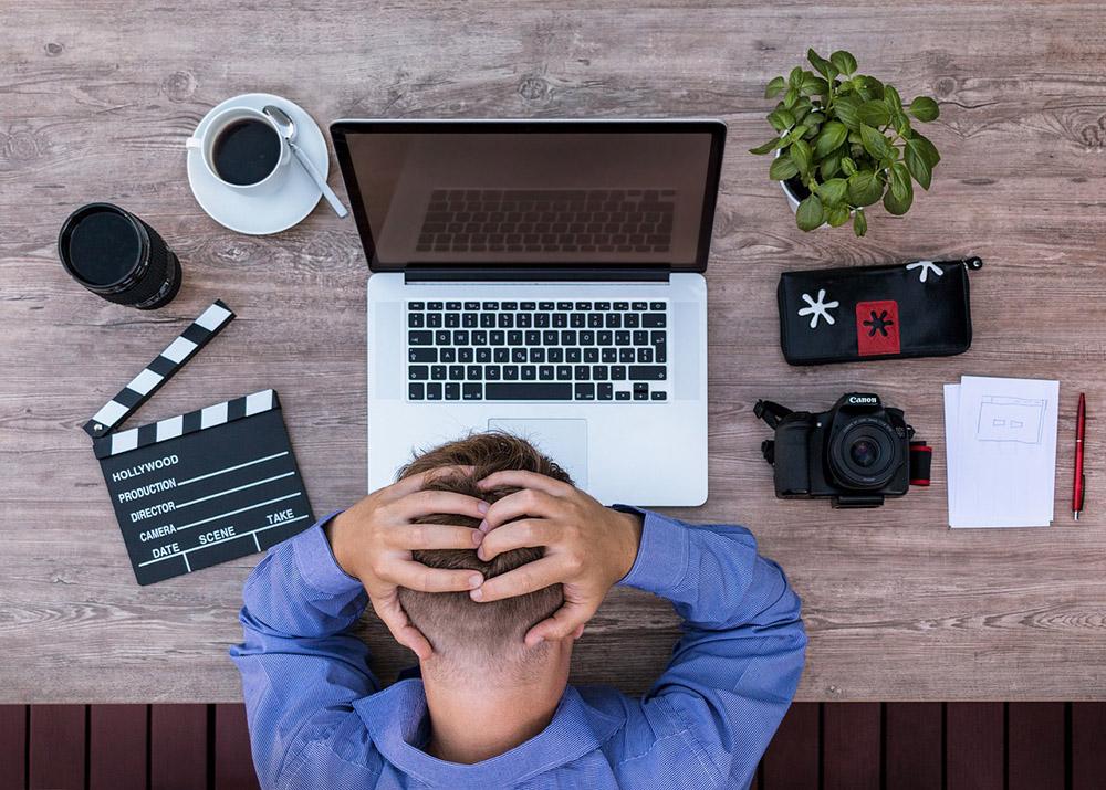 Frustration image via pixabay