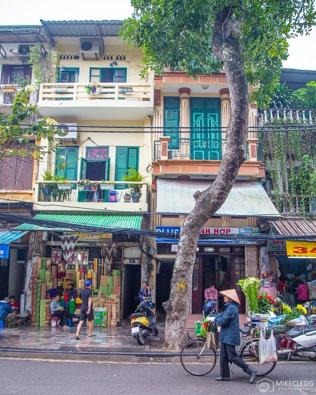 Locals and Streets in Hanoi