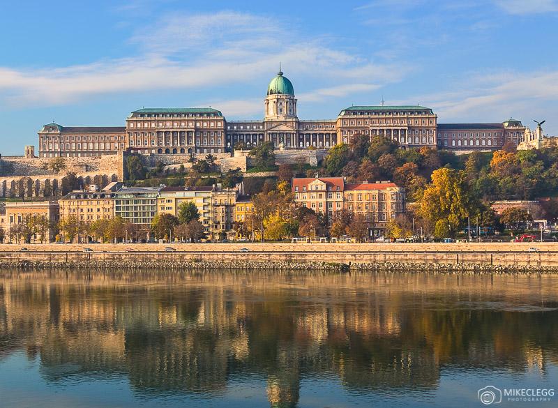 Outside of the Buda Castle, Budapest