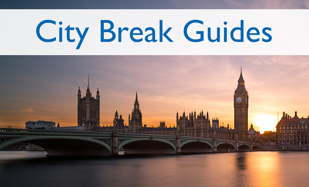 Page headers City Break Guides