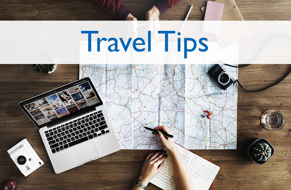Page headers - Travel Tips
