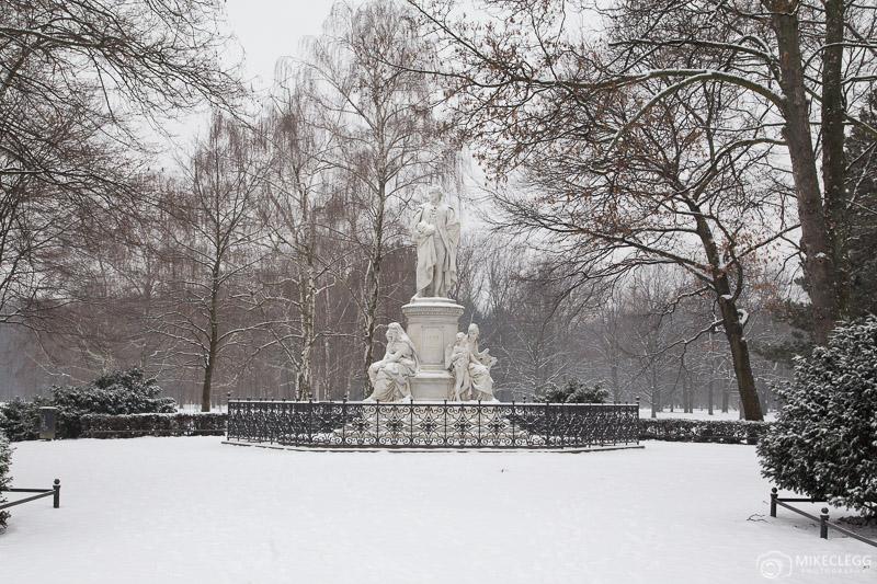Tiergarten, Berlin in the winter