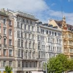 Typical architecture in Vienna