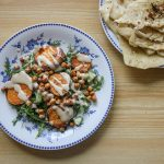 Vegan - Roasted Sweet Potato Salad by HowFarFromHome