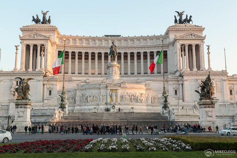 Altar of the Fatherland during the day - Rome