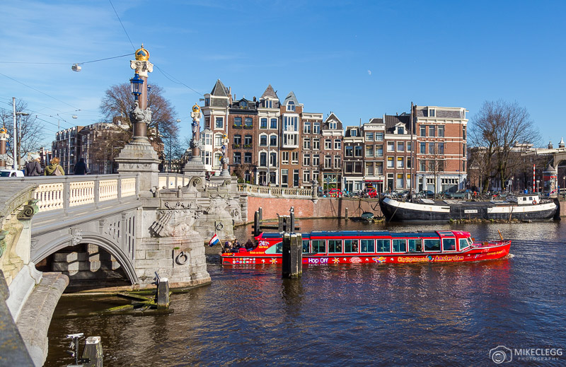 Boat sightseeing tours in Amsterdam