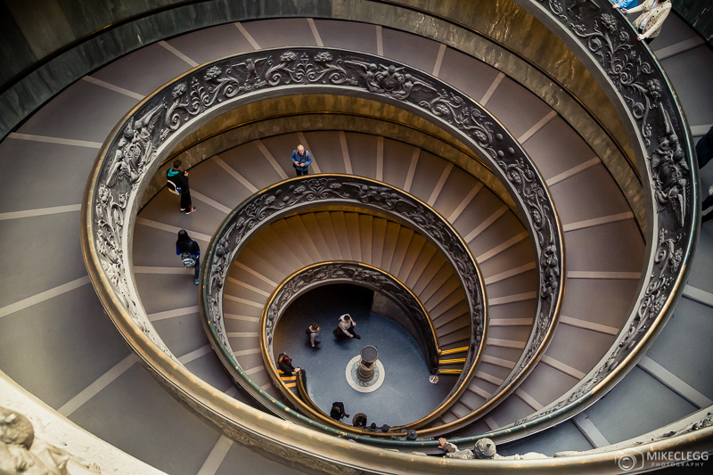 Bramante (Momo) Staircase, Vatican Museum