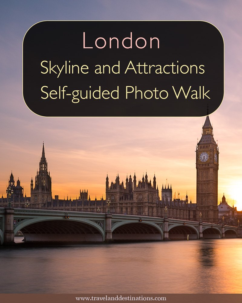 London Skyline and Attractions – Self-guided Photo Walk