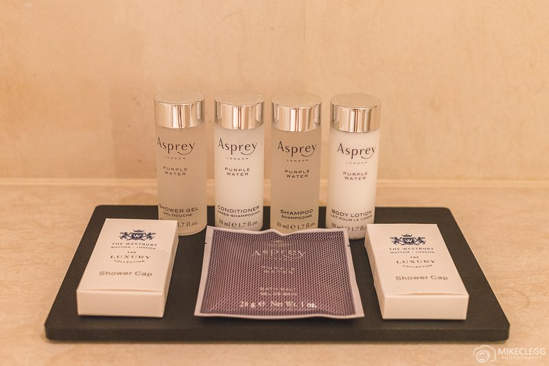 Asprey toiletries