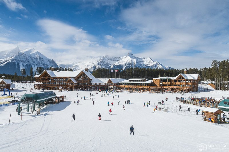 Base Station Lodges at Lake Louise Ski Resort