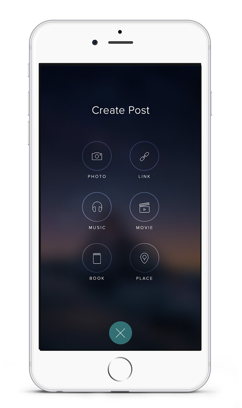 Creating posts on Vero