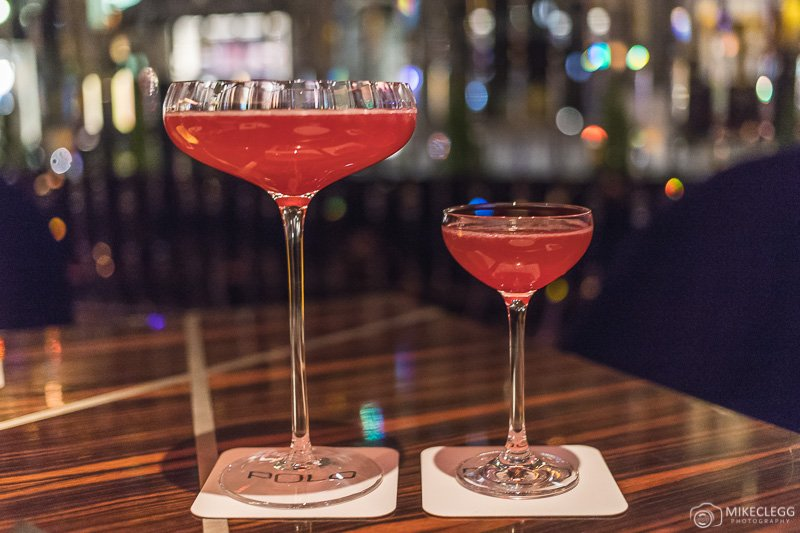 Delicious cocktails at Polo Bar - Westbury
