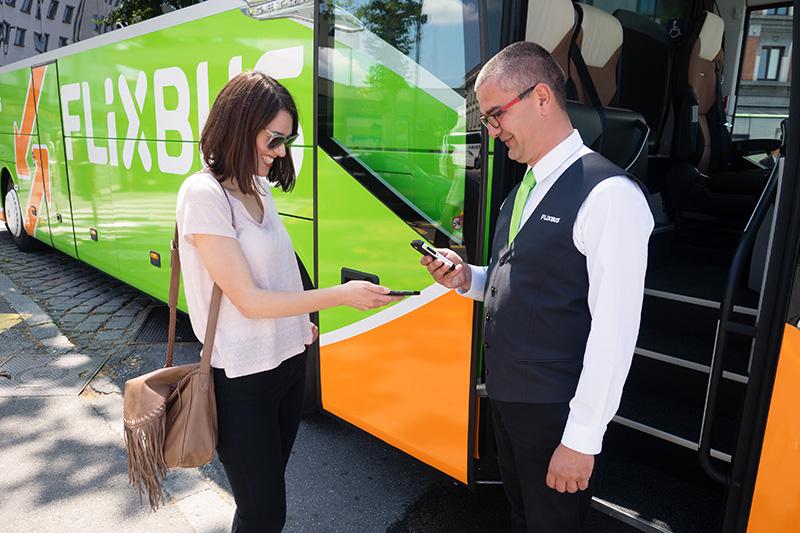 Flixbus Mobile Check In