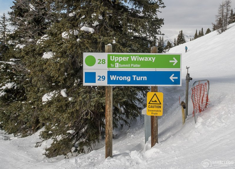 Fun run names at Lake Louise