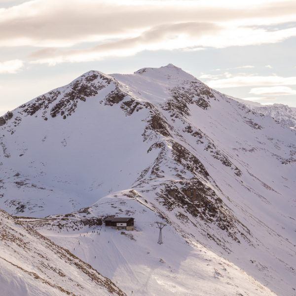 Photography and Ski Resort in the winter